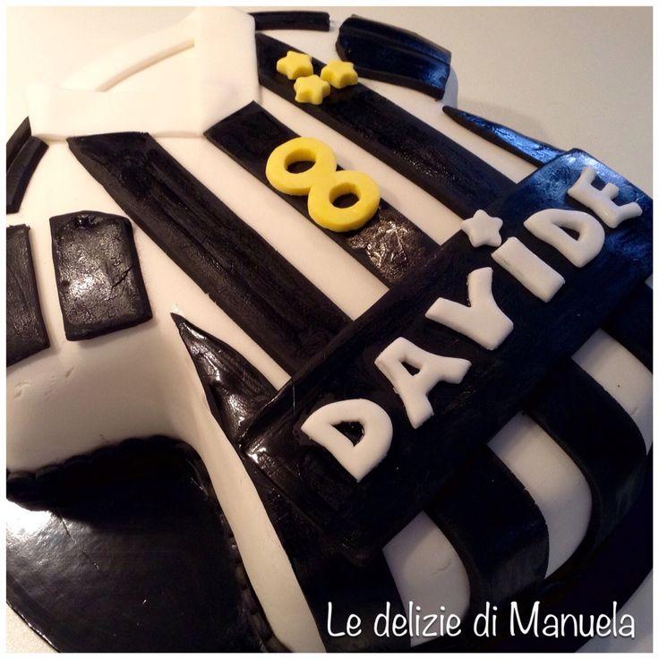 Juventus shirt cake www.ledeliziedimanuela.wordpress.com