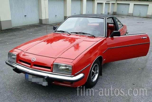 Opel Manta B Bj. 1977 für Film, Foto und Events mieten