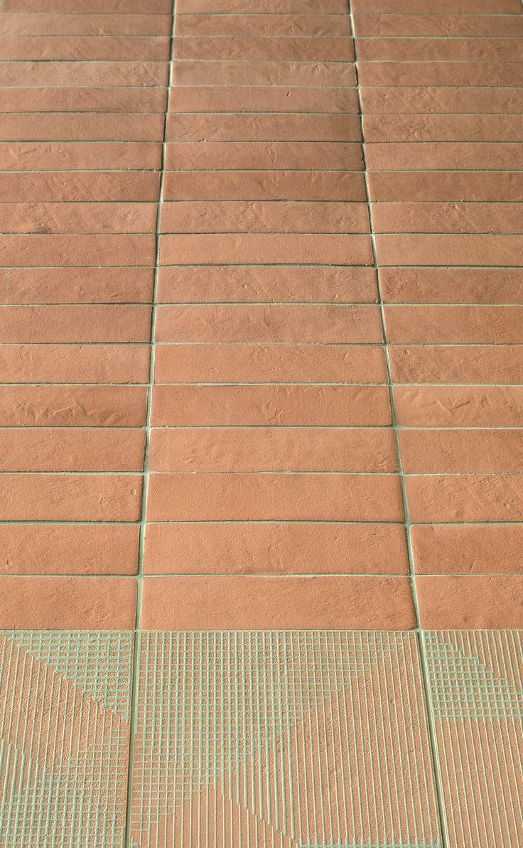 Porcelain stoneware wall/floor tiles TIERRAS INDUSTRIAL FRAME BLUSH TIERRAS Collection by MUTINA | design Patricia Urquiola