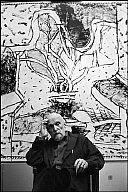 Pierre Alechinsky via Fine Arts Museum Belgium Pierre Alechinsky in his studio in Bougival, France Pierre Alechinsky Pierre A...