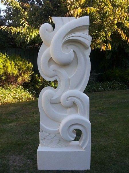 Beautiful!  KENO SCULPTURE www.kenosculpture.co.nz: Brett Keno Sculpture Gallery|Omaru Stone Carvings