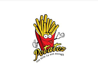 "Check out new work on my @Behance portfolio: ""Logo of Potatoz"" http://be.net/gallery/48146921/Logo-of-Potatoz"