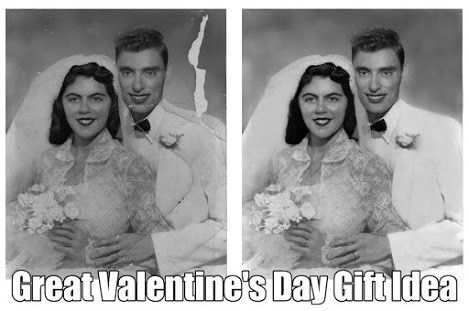 Photo Repair Experts Since 2003. Free Estimates. And The Lowest Prices. MBG! http://www.fixingphotos.com   #photorestoration #giftideas #photoretoucher #photorepair #retouching #PhotoManipulation #PhotoEditing #colorization #photobombers #profilepicturetouchups #phototouchups #weddingphotorestoration #valentinesdaygifts #valentinesdaygiftideas #valentinesdaypresents