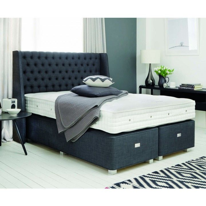 The Regency Divan Base From Hypnos Is Traditional Deep Or A Modern Shallow With Finishing Touches Super King Size Zip
