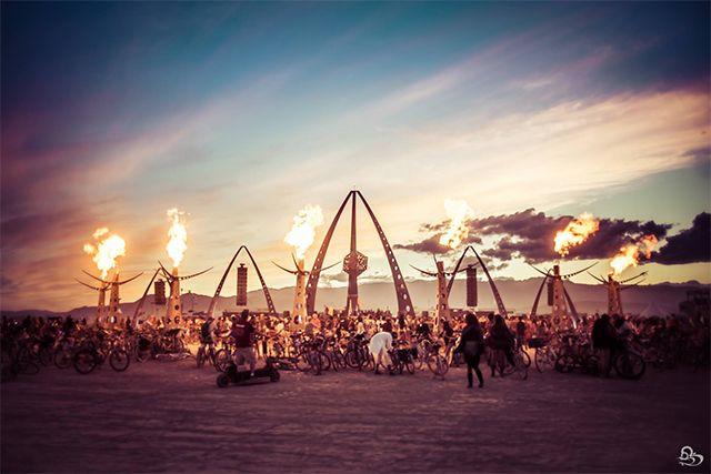 Luxe Burning Man Camp White Ocean Gets Vandalized In Effort To 'Take Back' Burning Man