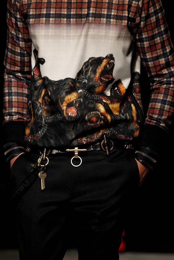 Givenchy Fall 2011 Menswear Collection Slideshow on Style.com