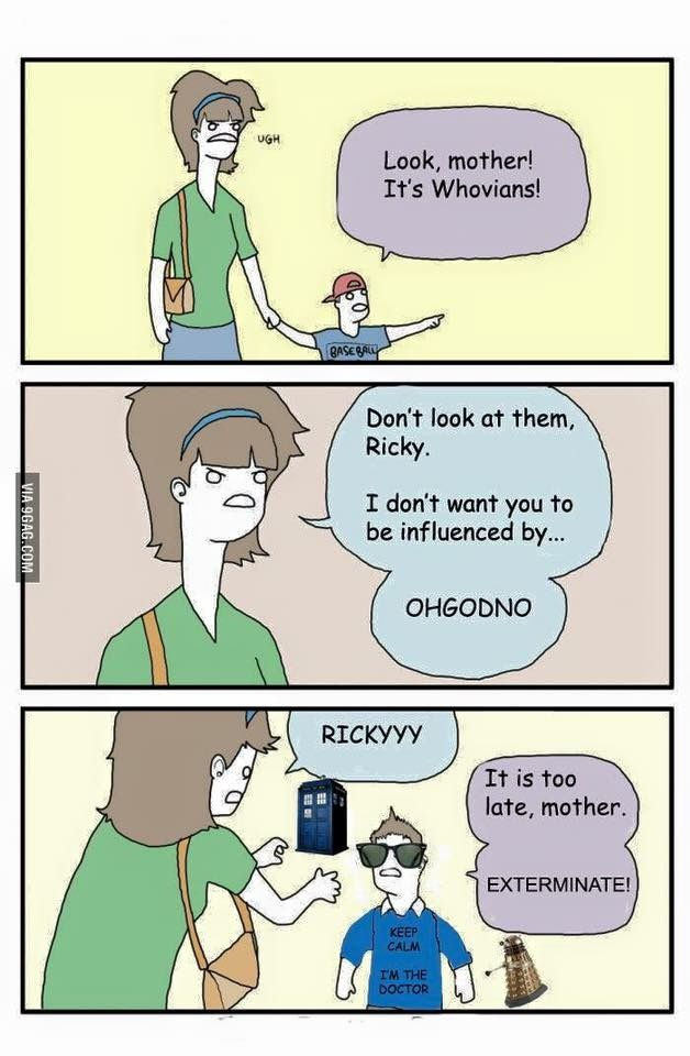 Beware the Whovians! | Funny memes, Memes, One punch man funny