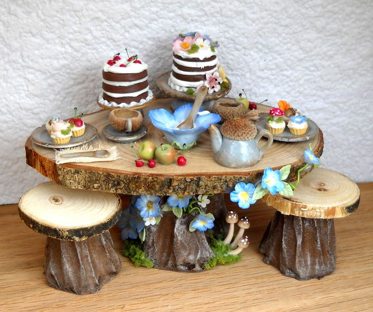 64tnt Miniatures: Fairy furniture and miscellaneous