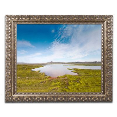 """Trademark Art Universal by Philippe Sainte-Laudy Framed Photographic Print Size: 11"""" H x 14"""" W x 0.5"""" D"""