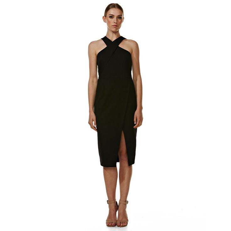 Dakota Black Cocktail Dress