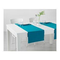MÄRIT Table-runner, turquoise - IKEA $6.99