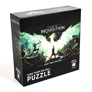 Dragon Age: Inquisition Lead Them or Fall 1000pc Puzzle | ThinkGeek
