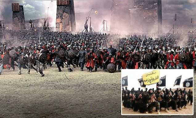 Historian Tom Holland tackles ISIS and the Middle Ages | Daily Mail Online