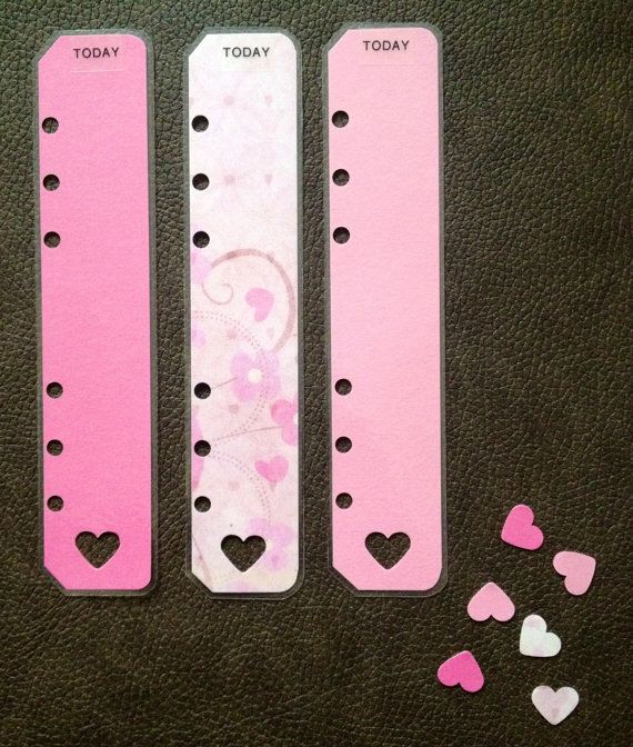 Personal filofax today markers-- recreate in decorative holiday theme