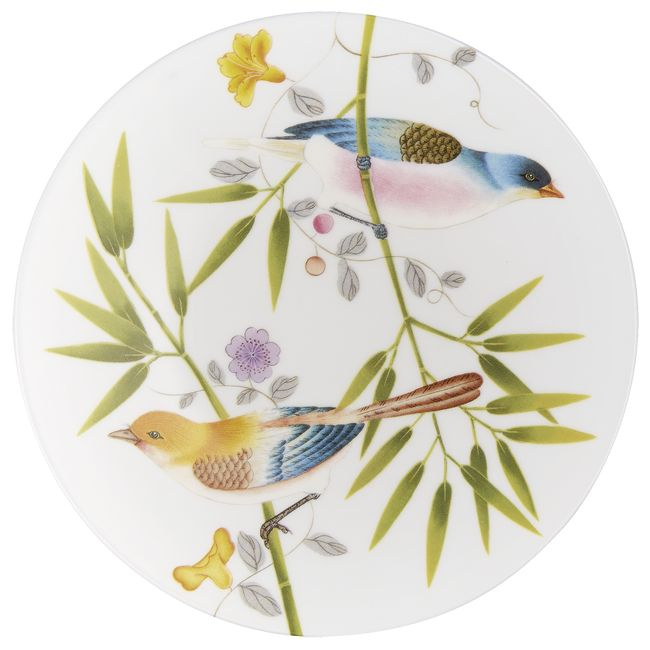 #Raynaud - Limoges #porcelain - Desert #plate of the Paradis collection