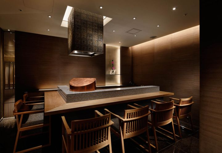 Palace Hotel Wadakura restaurant by A.N.D., Tokyo – Japan » Retail Design Blog