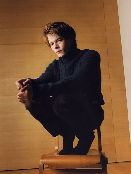 Jonathan is the unsung hero, in a way. Maybe he would like friends, but I don't feel like he definitely needs them. He chooses himself. -Charlie Heaton