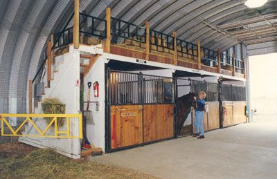 Prefab Steel Horse Stables And Horse Barns Gail Keefer