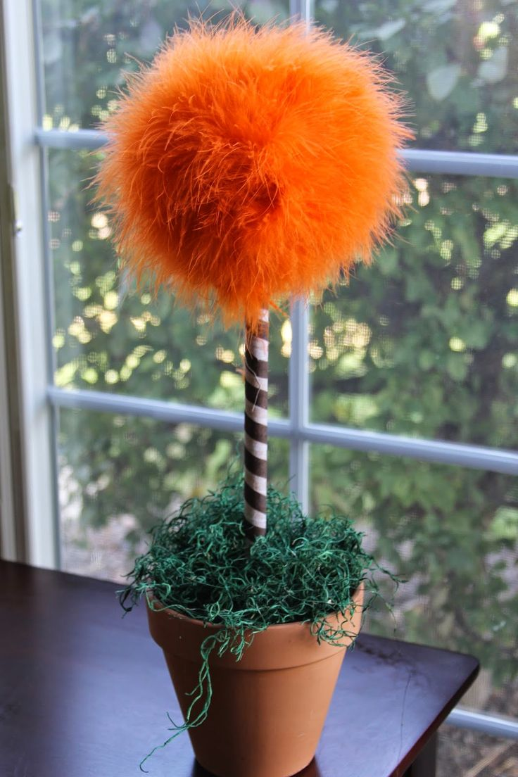 DIY TRUFFULA MINI TREES OR TRUFFULA FLOWERS... DR. SUESS THEMED PARTY