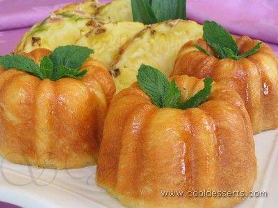 :: Просмотр темы - Десерты от Мишель. Ананасовые ромовые бабы