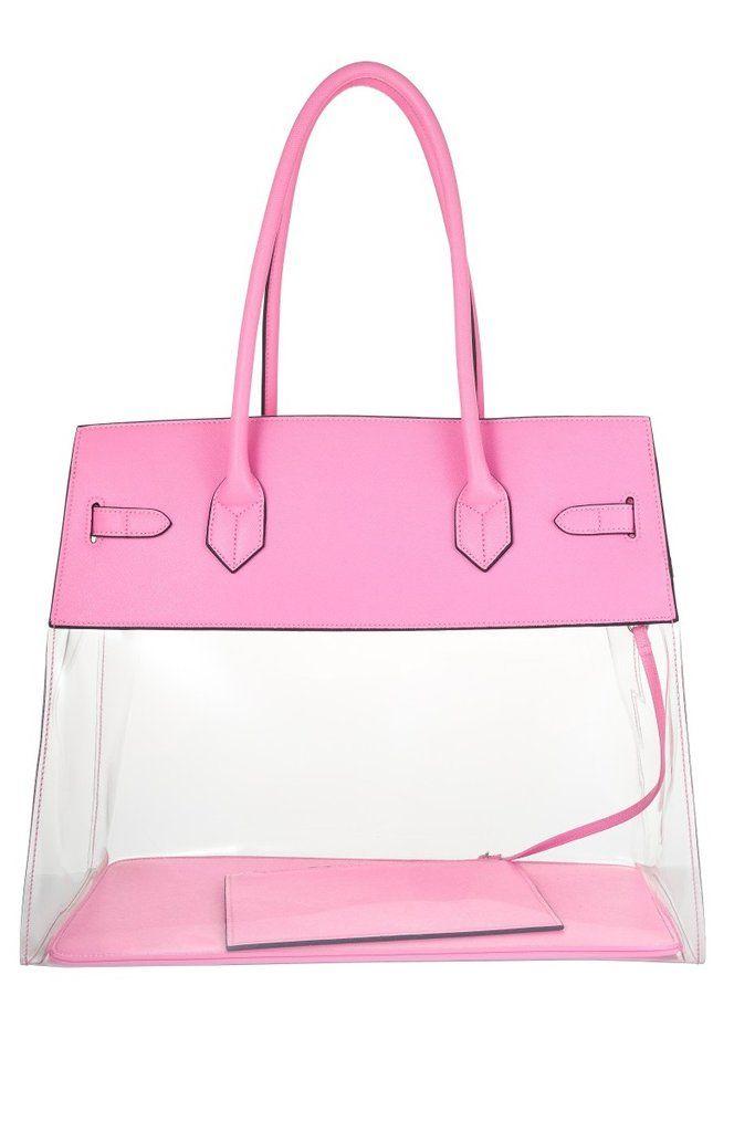 a5e74f2e84 Clear Beach Bag  beachbag  totebag  designerbag