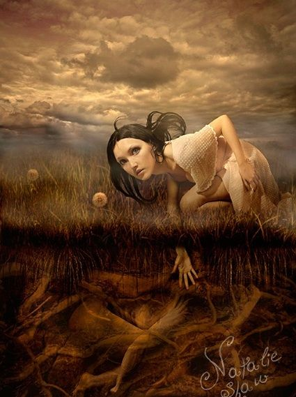 Another of Natalie Shau pieces...her work is very intriguing to me...~neilsonpm