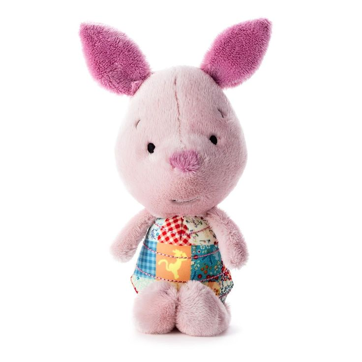 26 best easter gifts images on pinterest easter gift baby gifts perfect gift for a sweet little one or a fan of any age piglet looks especially adorable with patchwork accents plush fabric with patchwork accents w x negle Gallery
