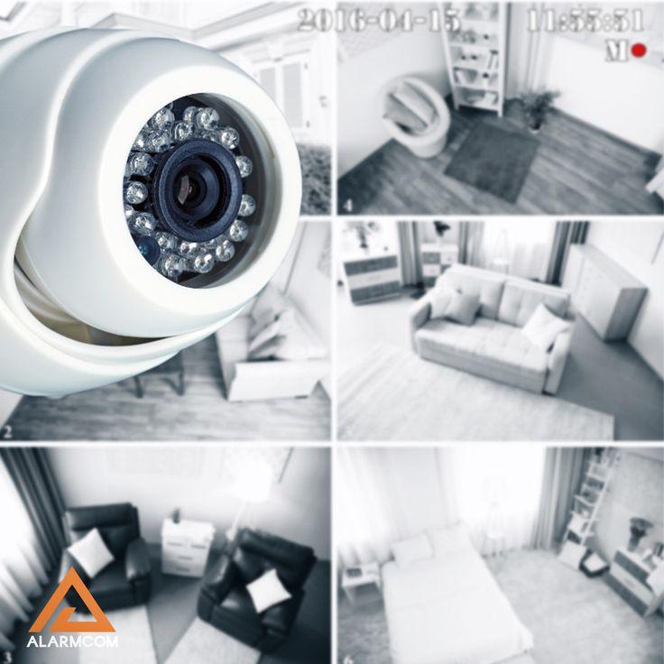 Alarmcom Akıllı Güvenlik Sistemleri ile eviniz güvende olsun.