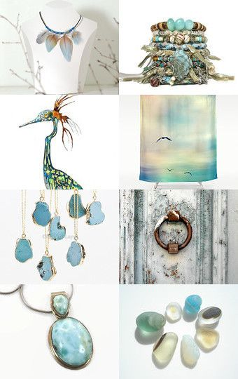 sweet turquoise by dominique sampaio on Etsy--Pinned with TreasuryPin.com