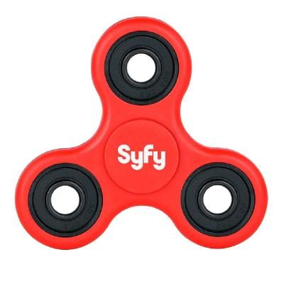 Image of Promotional Fidget Spinner. Printed Stress Relief Toy