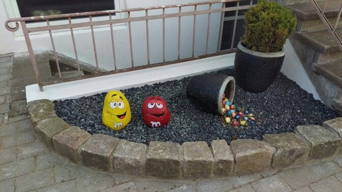 DIY M&Ms stones :)