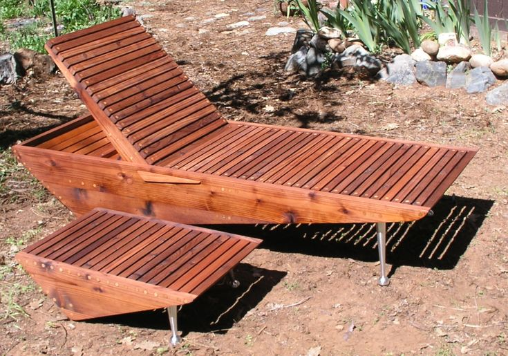 11 Best Mid Century Modern Chaise Lounge Chair Wood Pool