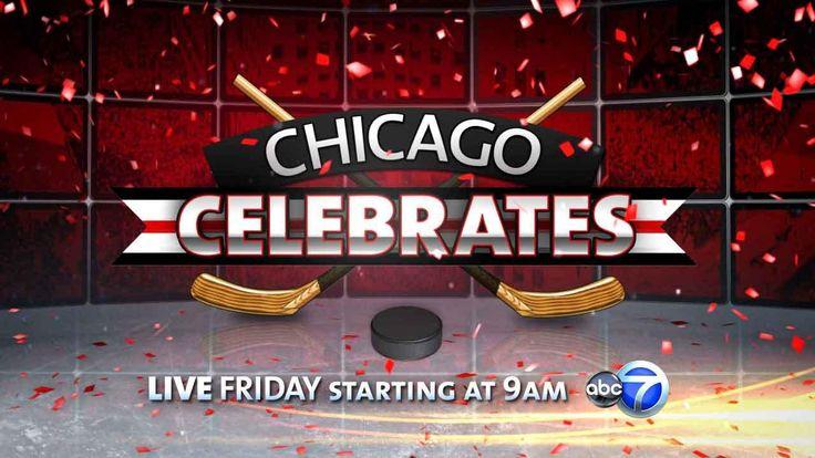 blackhawks parade 2013 photos | 2013 Chicago Blackhawks parade, rally | ABC 7 News LIVE Video ...