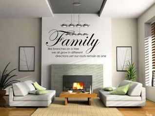 Family like branches wall sticker! www.theprettycollection.co.za