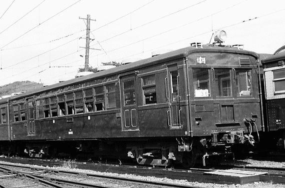 クハ18 001飯田線辰野 鉄道 写真 列車 鉄道車両