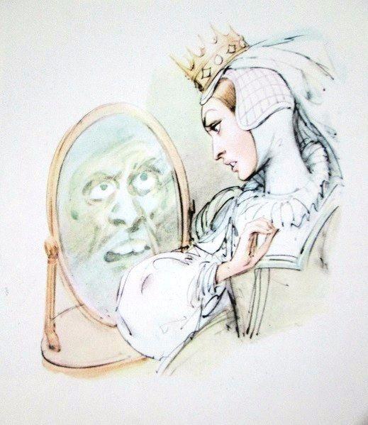 """Snow White"" - Biancaneve Illustration by Marino (Marino Guarguaglini)"