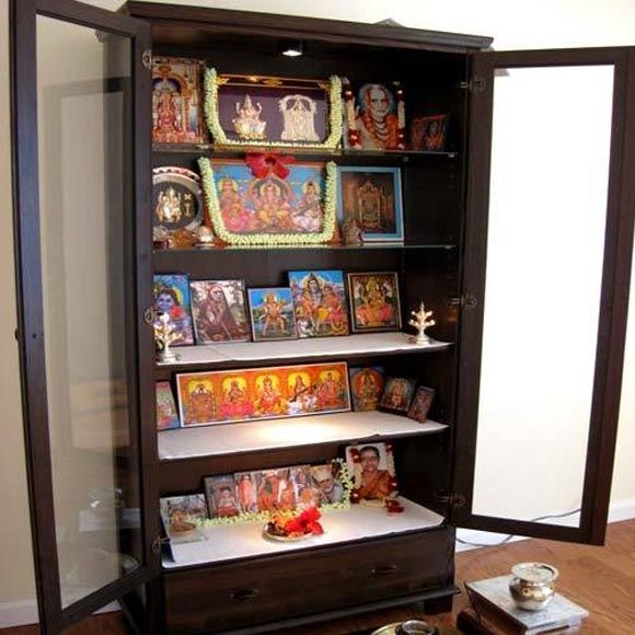 How to Create a Puja Space from a Wardrobe #hindu