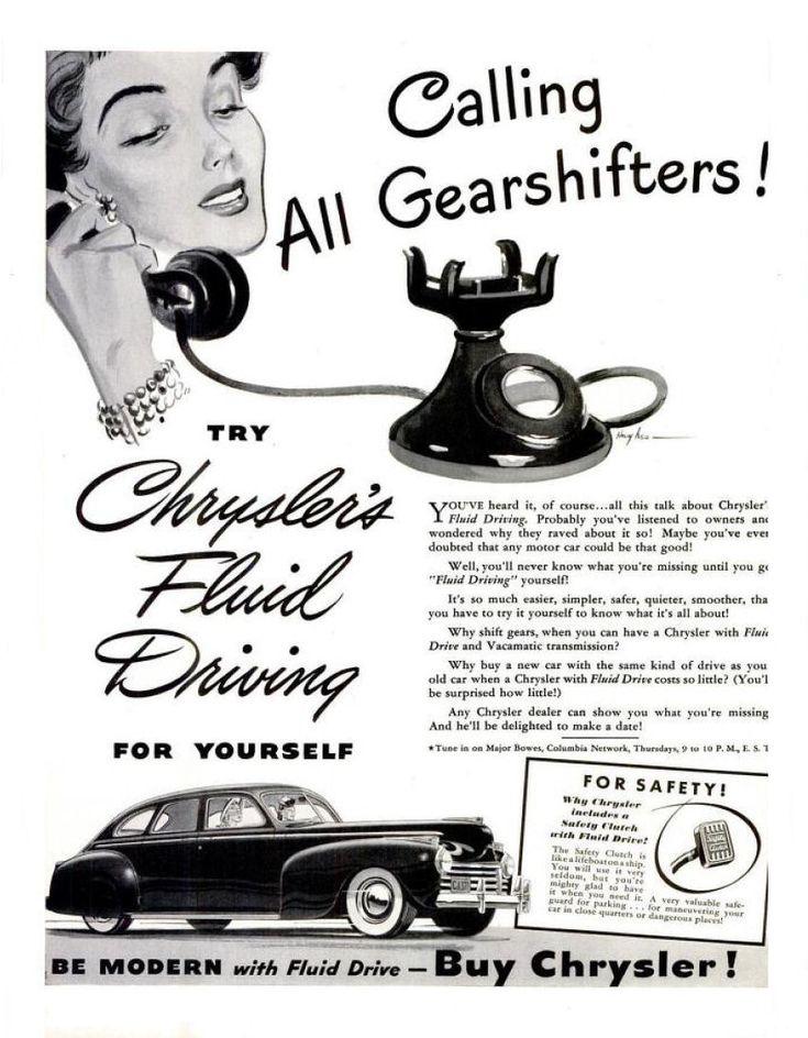 14 best 1941 chrysler ads images on pinterest golden age for Garage ad agde