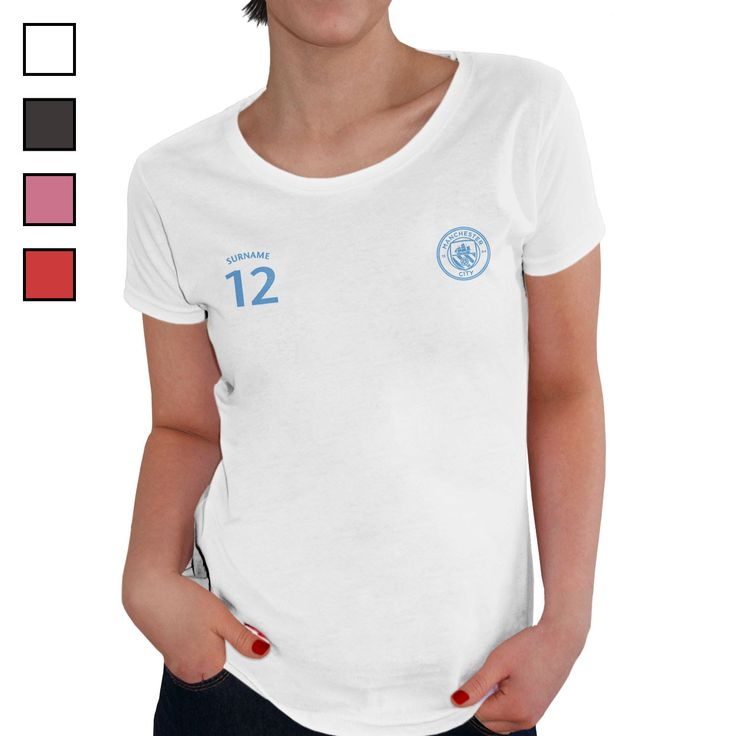 Manchester City FC Ladies Sports T-Shirt