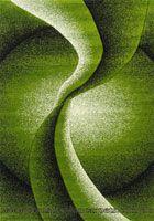 Paris Modern Abstract Rug 5135 Green