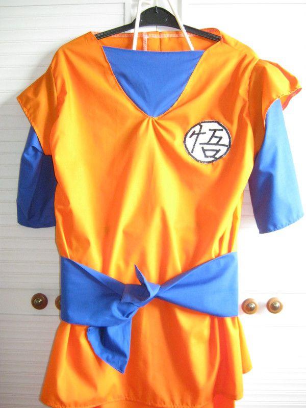 How to make an chracter costume. Dragon Ball Z Goku Costume - Step 4