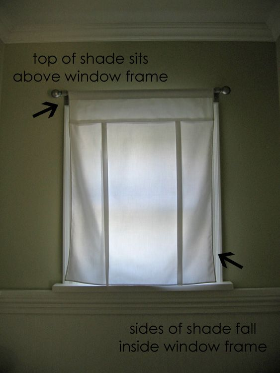 Tutorial   Fabric Tie Up Shade | Cortinas Y Cojines | Pinterest | Cozy,  Fabrics And Room