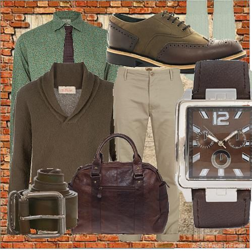 Some army but trendy | Men's Outfit | ASOS Fashion Finder