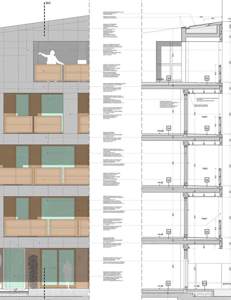 """CasaNova"" Social Housing / cdm architetti associati | ArchDaily"