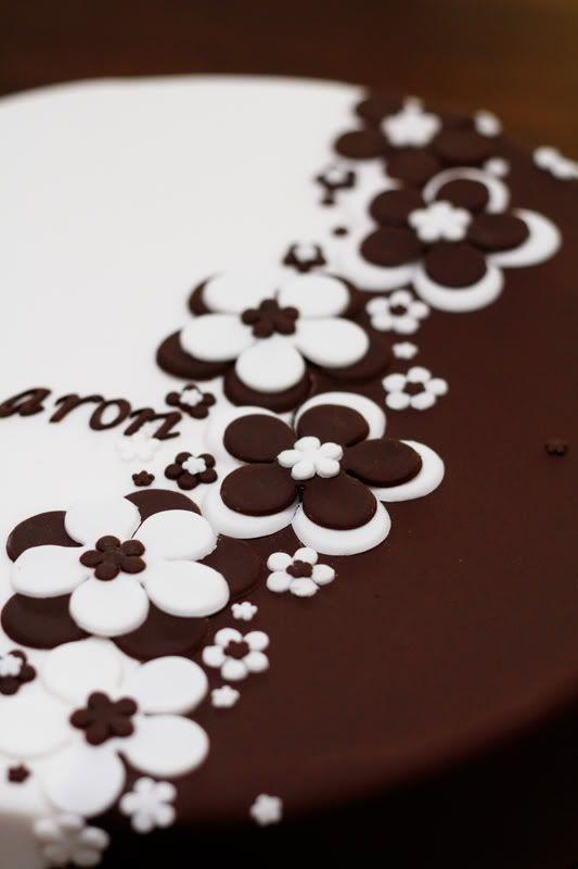 Chocolate Engagement Cakes Ideas