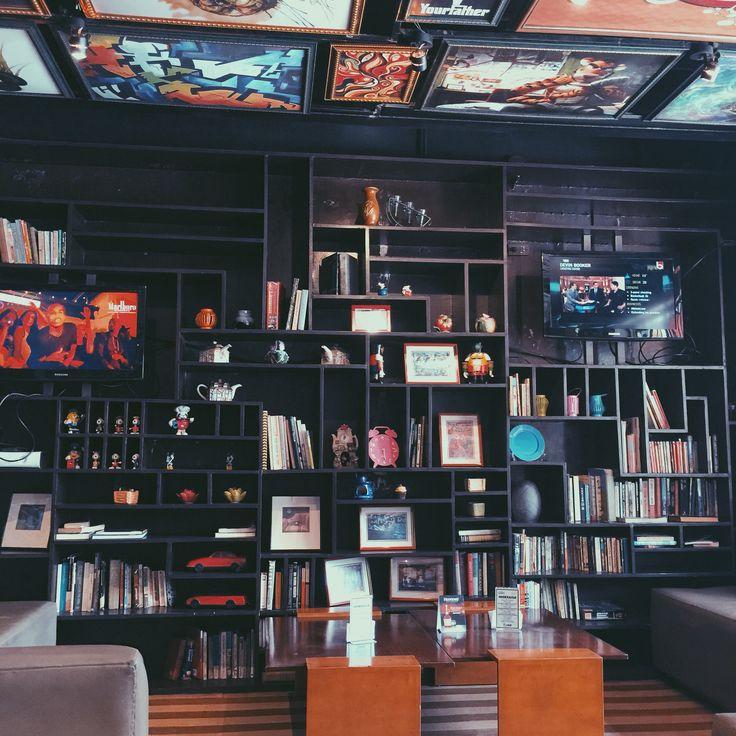 Bookshelf of Sala. Baguio City.