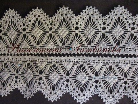 Кружевная  вязание