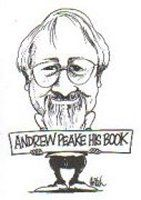 Bookplate by A. Mitchell for Andrew Peake, 2000