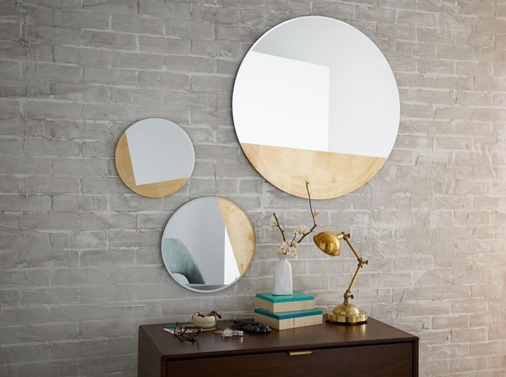 No Windows In Your Living Room Mirrors Are Friend They Double Light