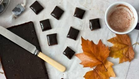 Bonfire toffee (also known as treacle toffee, Plot toffee, or Tom Trot) is a hard, brittle toffee associated with Halloween and Guy Fawkes Night